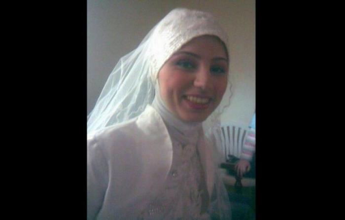 Roqaya Mounzer on her wedding day. (Photo: KAFA Facebook page)
